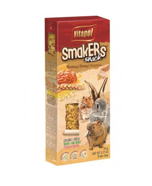 Smakers miodowy dla gryzoni i królika 90g/2szt.