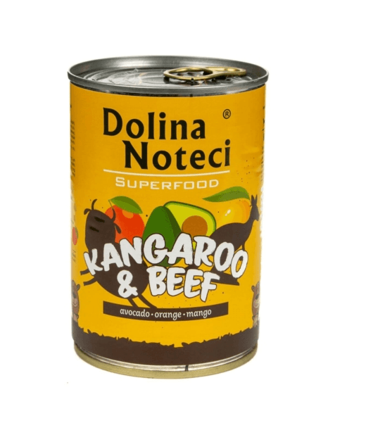Dolina Noteci Superfood Kangur i Wołowina 400g