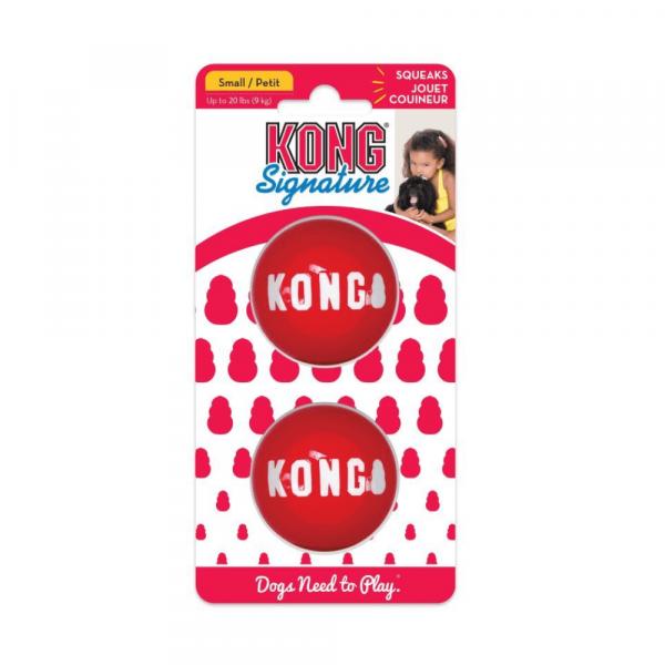 Kong Signature Ball 2 PACK S