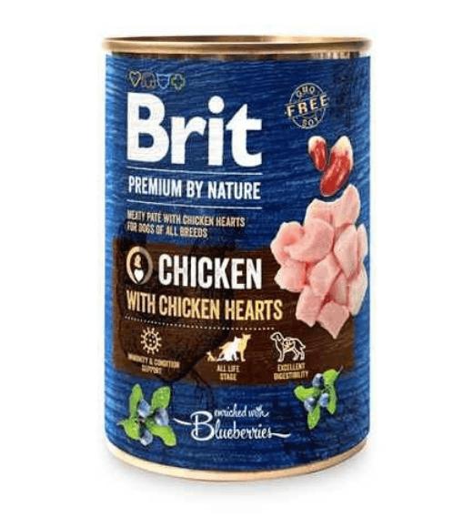 Brit Premium by Nature Chicken&Hearts 400g