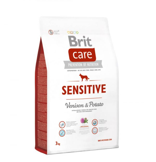 BRIT Care Sensitive Venison&Potato 3kg