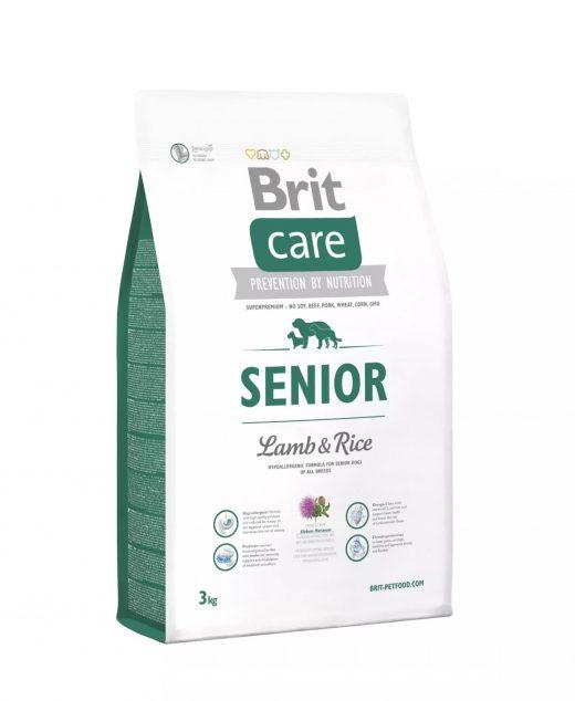 Brit Care Senior All Breed Lamb&Rice 3kg