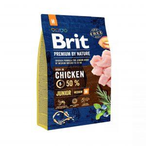 Brit Premium By Nature Junior Medium 3kg