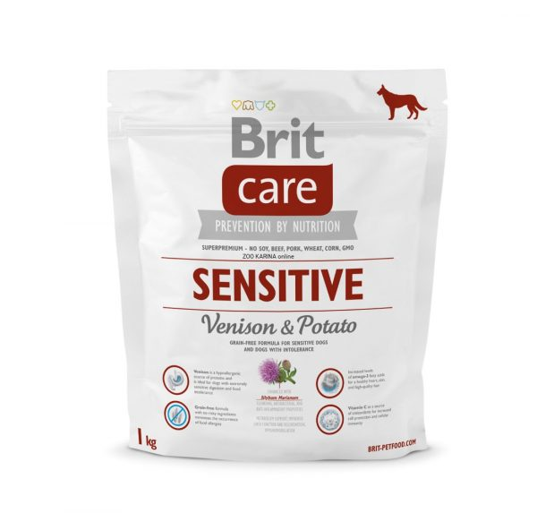BRIT Care Sensitive Venison&Potato 1kg