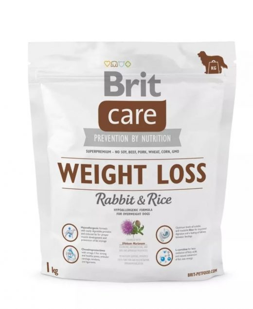 Brit Care Weight Loss Rabbit&Rice 1kg