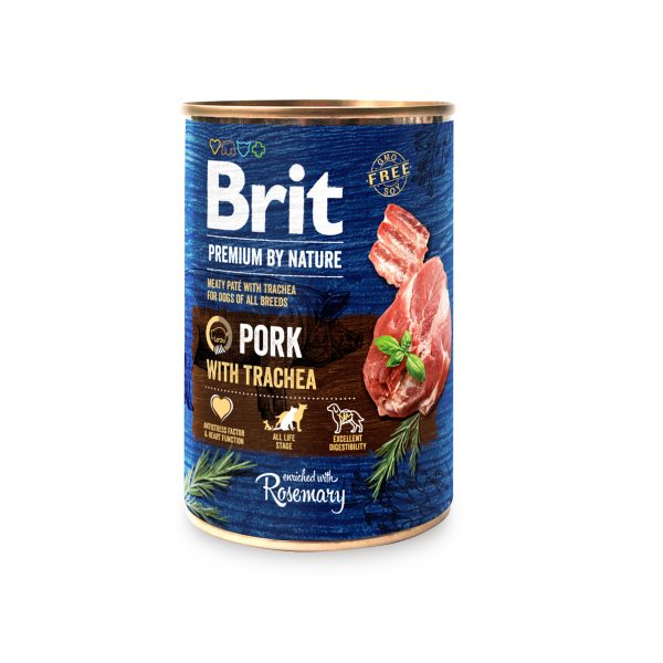 Brit Premium by Nature Pork with Trachea