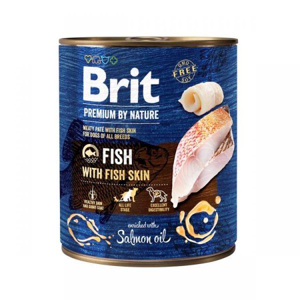 Brit Premium by Nature Adult Fish & Fish Skin 800g