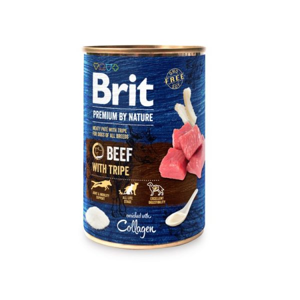 Brit Premium by Nature Adult Beef & Tripes 400g