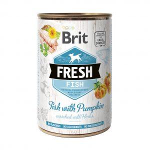 BRIT FRESH FISH&PUMPKIN 400g