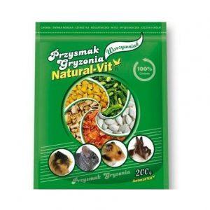 NATURAL-VIT Ogród Warzywny - przekąska dla gryzoni 200g