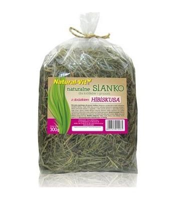 NATURAL-VIT Sianko naturalne dla gryzoni z hibiskusem 300g