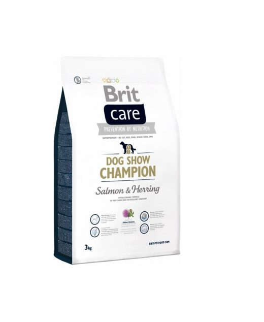 BRIT CARE CHAMPION SALMON& HERRING 3KG