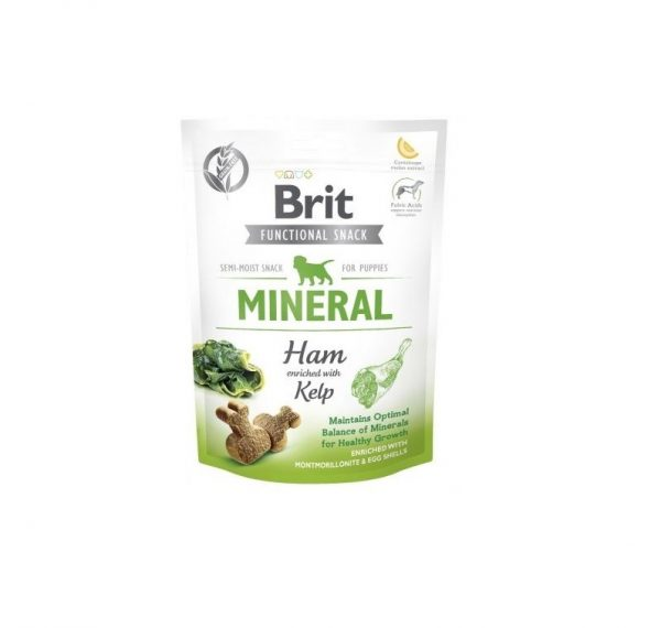 Brit Care Functional Snack Mineral Ham Puppy 150g