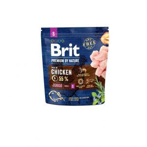 Brit Premium By Nature Chicken Junior S 1kg