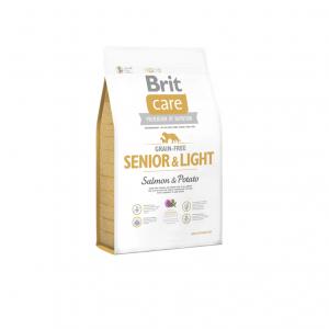 Brit Care Grain Free SENIOR & LIGHT SALMON & POTATO 3kg