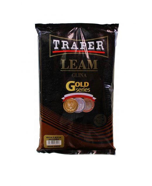 Traper Glina wiążąca brązowa 2 kg