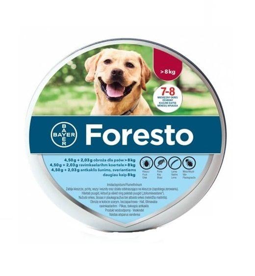 BAYER Foresto Obroża dla psów powyżej 8kg