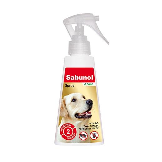 Sabunol - Płyn do zwalczania pcheł i kleszczy 100ml