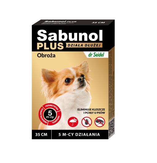 Sabunol Plus Obroża dla psów 35 cm