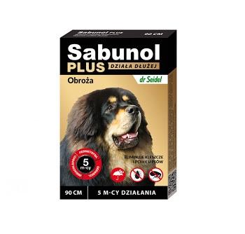 Sabunol Plus Obroża dla psów 90 cm