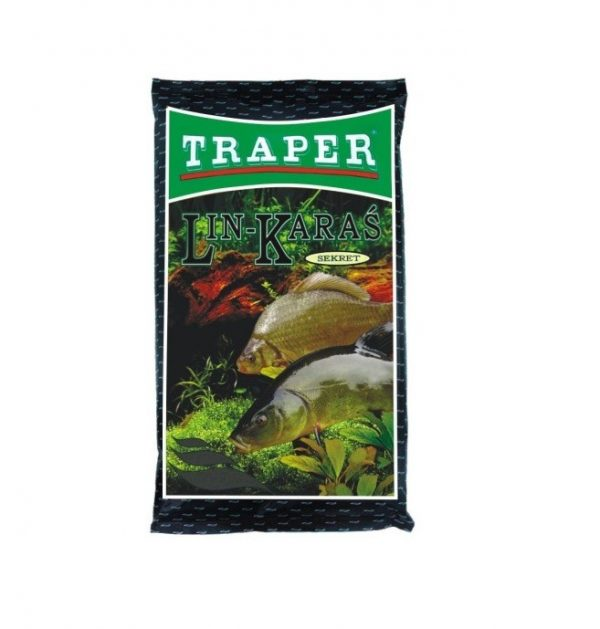 Traper Sekret Lin-Karaś Czarny 1kg