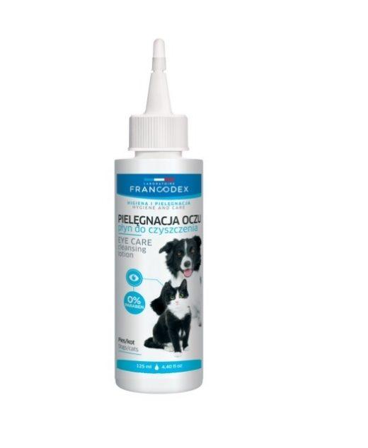 Francodex Płyn do Pielęgnacji Oczu Dla Psów i Kotów 125 ml