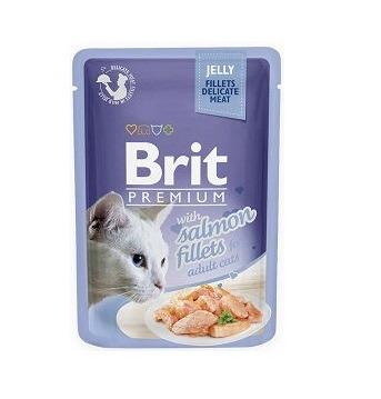 Brit Premium filet z łososia w galarecie 85 g