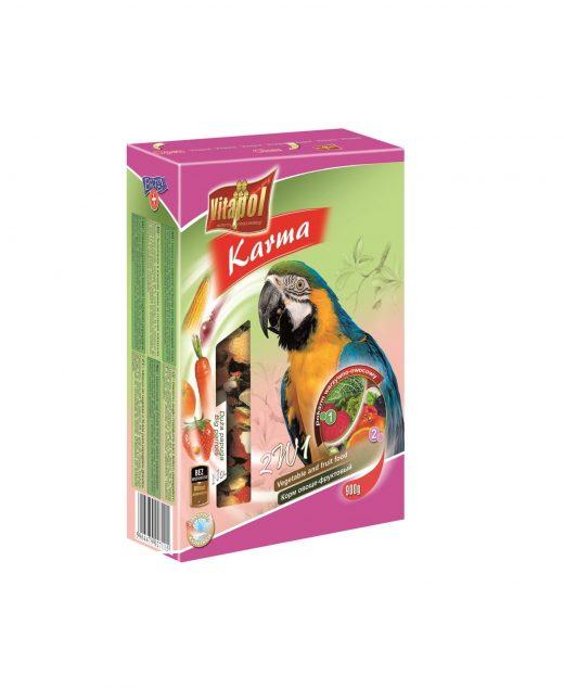 Karmeo Life Karma warzywno-owocowa dla dużych papug 900g