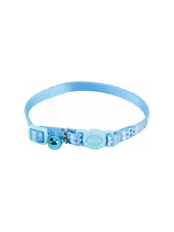 Zolux obroża dla kota z dzwoneczkiem niebieska