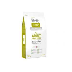 Brit Care Adult Small Lamb&Rice 7,5kg