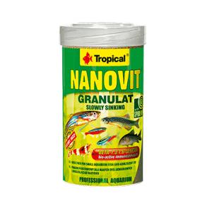 Tropical Nanovit Granulat 70g/100ml