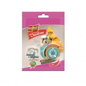 Karma uzupełniająca Vitaline muszle+ wapń dla ptaków 50g