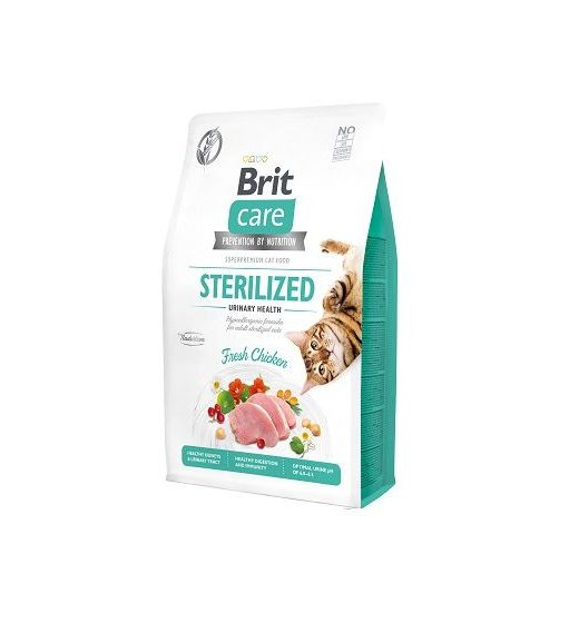 Brit Care Sterilized Urinary Health Fresh Chicken 400g