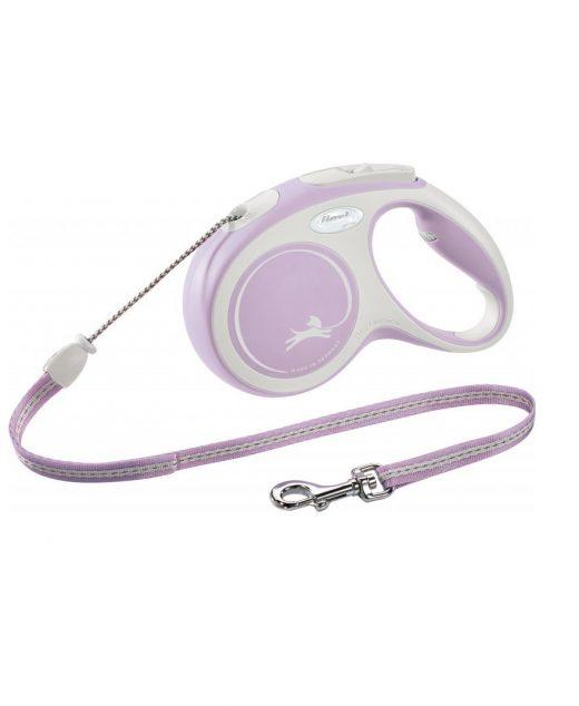Flexi New Comfort Linka M 5m różowa