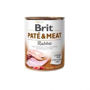 BRIT PATE & MEAT RABBIT 800G