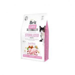 Brit Care Cat Sterilized Sensitive Fresh Rabbit 2kg