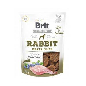 Brit Jerky Snack Rabbit Meaty Coins 80g