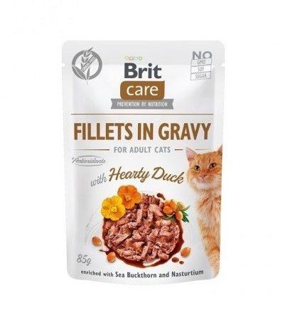 Brit Care Filety z kaczki w sosie 85g