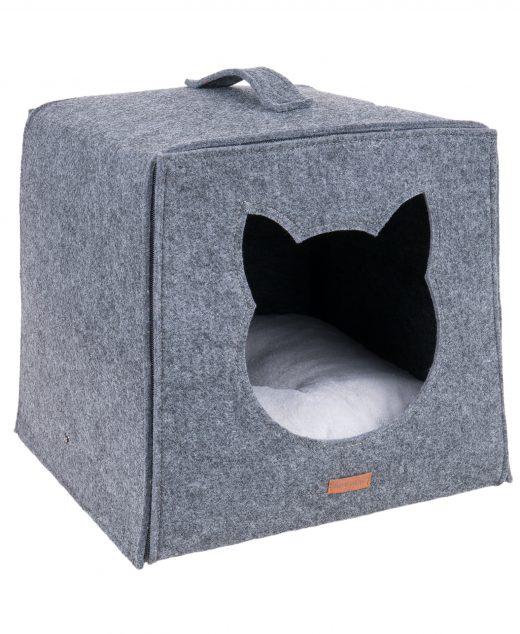AmiPlay Kostka dla kota Quick Press 2 w 1 Hygge