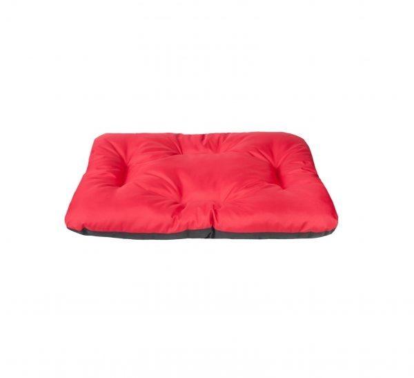 AmiPlay Poduszka Prostokątna Basic Czerwono-Czarna