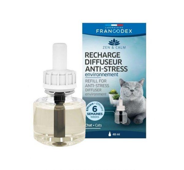 Francodex wkład do dyfuzora przeciwstresowego dla kota 48ml