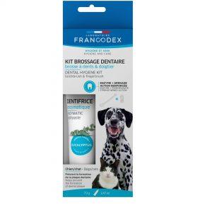 Francodex enzymatyczna pasta do zębów dla psa i kota 70g