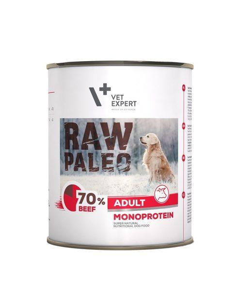 Raw Paleo Monoprotein Adult Wołowina 800g