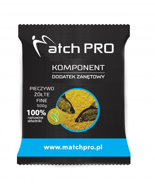 Match PRO pieczywo fluo żółte fine 500g