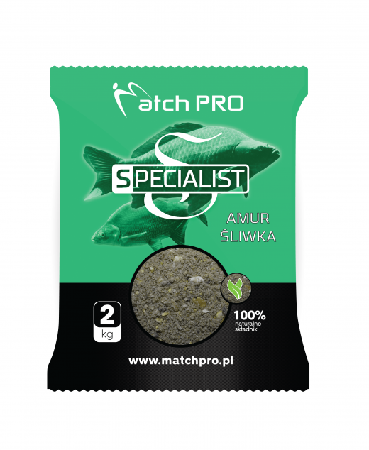 Match PRO zanęta specialist amur śliwka 2 KG