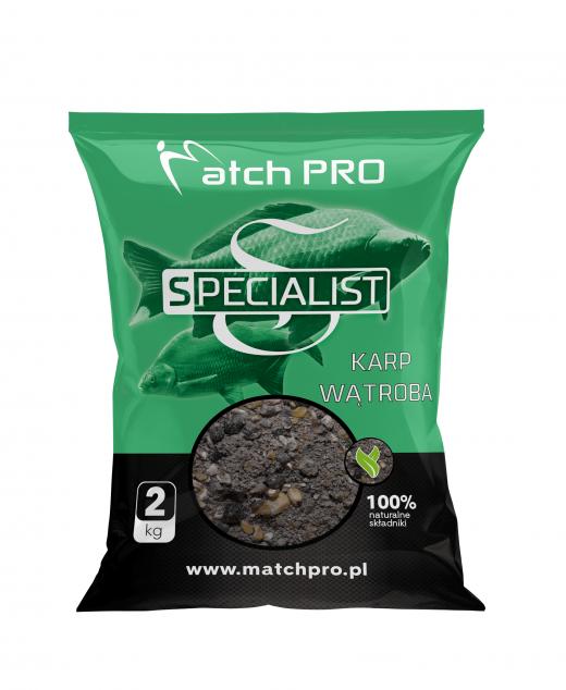 Match PRO zanęta specialist karp wątroba 2 KG