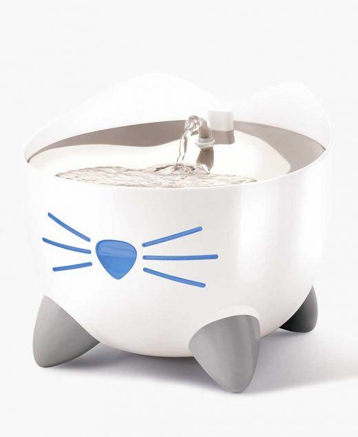 Catit Pixi fontanna dla kota z miską ze stali nierdzewnej
