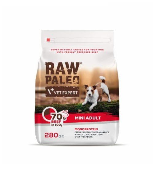 Raw Paleo Mini Adult Beef 280g