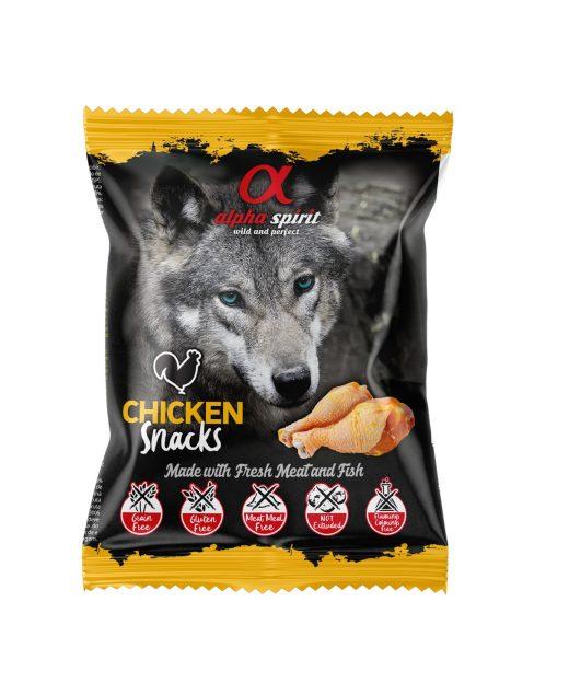 Alpha Spirit Przysmak w kostkach dla psa kurczak 50g